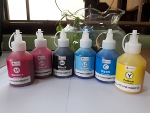 Mực Dầu Epson 100ml (Pigment UV)